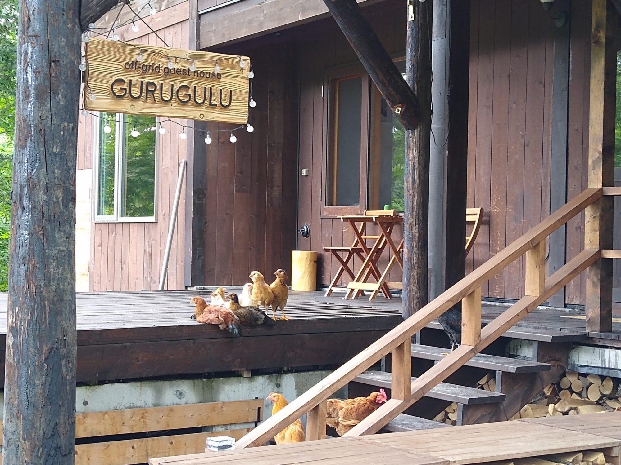 off-gridguest house GURUGULU